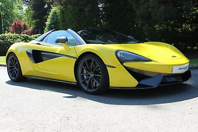 2017 McLaren 570S Spider Launch Edition Petrol yellow Semi Auto