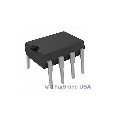 10 x LM393N LM393 IC LOW POWER DUAL VOLTAGE COMPARATORS USA SELLER Free Shipping