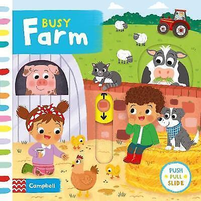 Busy Farm by Louise Forshaw (Board book, 2017)