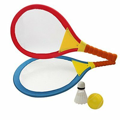 Akokie Badminton Tennis Rackets for Kids 2 In 1 Beach Sport Toy Set with Ball Se