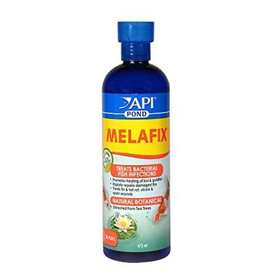 API Pond Melafix Pond Fish Bacterial Infection Remedy Bottle, Safe for Pets, 473