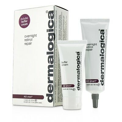 Dermalogica Age Smart Set: Overnight Retinol Repair 30ml + Buffer Cream 2pcs