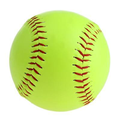 Leather High-quality 12inch Softballs Great Practice for Students Teaching