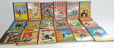 """Joblot of 18 Vintage """"The Broons"""" & """"Oor Wullie"""" Books/Annuals (BC_ 1826) (1)"""
