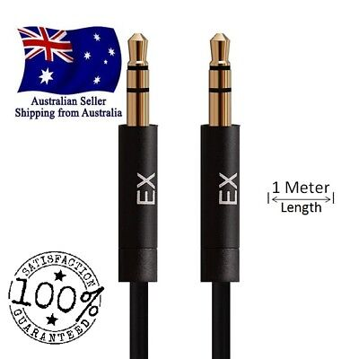 AUX Cable 3.5mm Stereo Audio Input Extension Male to Male Auxiliary Car Cord