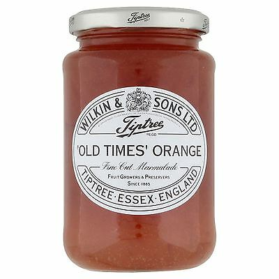 Wilkin & Sons Ltd Tiptree 'Old Times' Orange Fine Cut Marmalade 454g