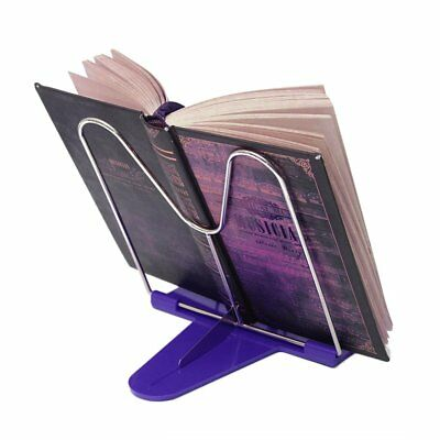Adjustable Angle Foldable Portable Reading Book Stand Document Tablet Pad Holder