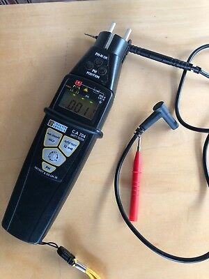 Chauvin Arnoux Digital Multimeter C.A. 704 Steckdosentester