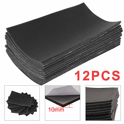 12 Sheets Closed Cell Foam Car Sound Proofing Deadening Van Boat Insulation 10mm
