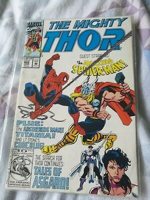 The Mighty Thor  #448  / Spider-Man.