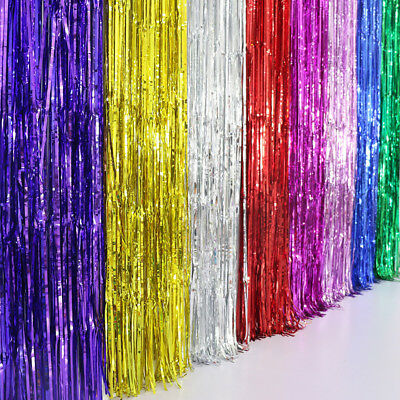 String Door Curtain Beads Room Divider Window Panel Tassel Fringe Home Decor
