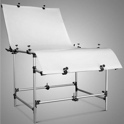 Large Pro Studio Still Life And Product Display Shooting Table With Clamps