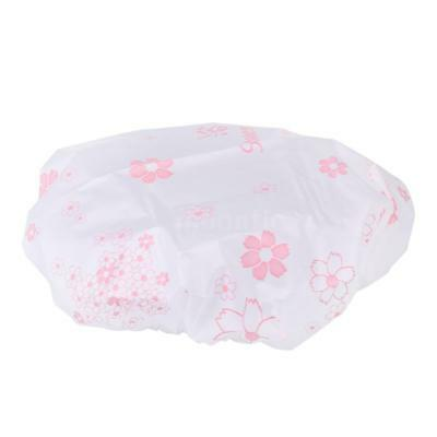 Shower Cap Hair Hat Net Plastic Shower Cap Head Cover Hat Elastic Hat E0U5
