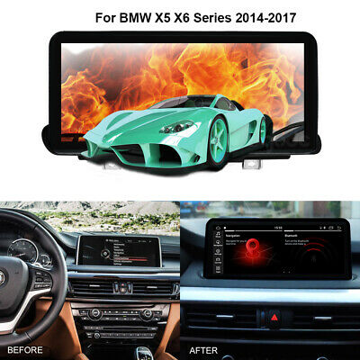 """10.25"""" Android Screen Monitor Media Navigation for BMW X5 F15 X6 F16 2014-2017"""