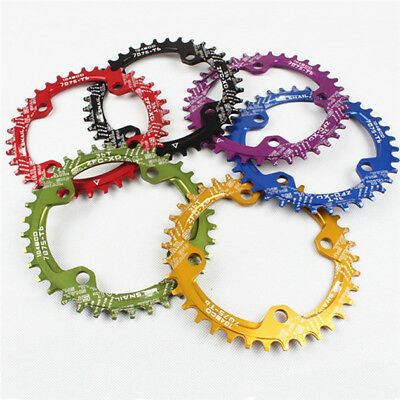 SNAIL Bike Narrow Wide Round Oval Chainring Ring BCD 104mm 32 34 36 38 40 42T
