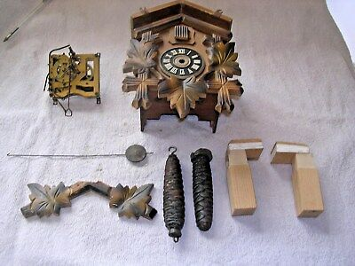 Clock  Parts ,  Cuckoo  Clock  Parts  For  Spares