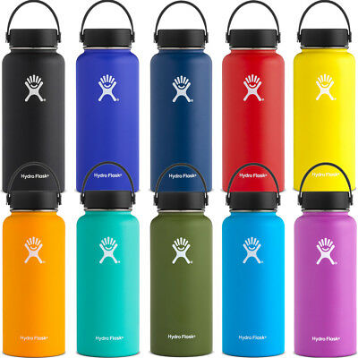 Hydro Flask Wide Mouth 32oz With Flex Cap - 9 Colours