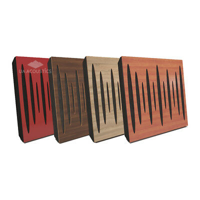 "(4 Pack) 50*50*5cm Absorption-Diffuse Acoustic Panel ""Pulsar"" (laminated wood)"
