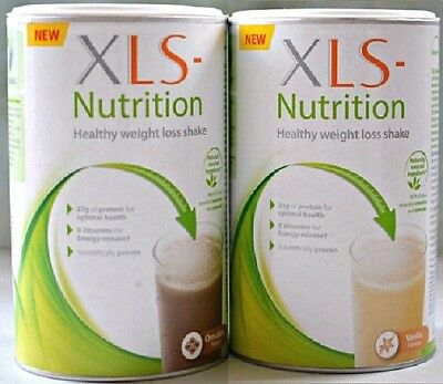 XLS Nutrition Meal Replacement Shake 400g: Select Chocolate or Vanilla