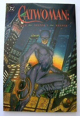 1991 Catwoman Her Sister's Keeper #1 Unread