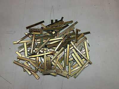 60 Grams Double sided Computer Gold fingers Closely Cut for Gold scrap Recovery