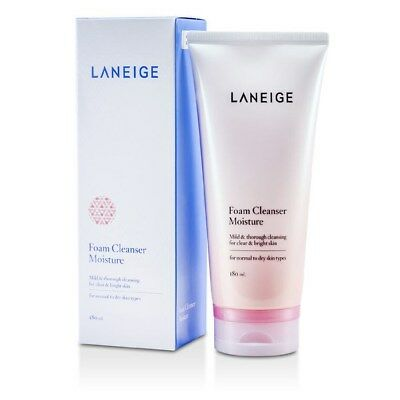 Laneige Foam Cleanser Moisture (For Normal to Dry Skin) 180ml Womens  Skin Care