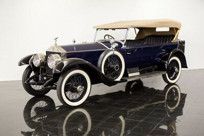 1924 Rolls-Royce Ghost Silver Ghost Pall Mall Touring 1924 Rolls Royce Silver Ghost Pall Mall Touring