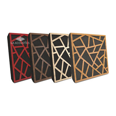 """4pcs 50*50*5cm Sound Absorption-Diffuse Acoustic Panel """"Skyross"""", laminated wood"""
