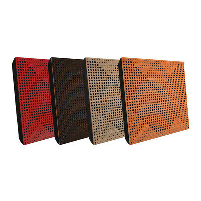 """4pcs 50*50*5cm Sound Absorption-Diffuse Acoustic Panel """"Wilds"""", (laminated wood)"""