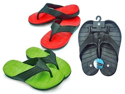 MEN'S THONG SANDALS - ASSORTED COLORS > (Lot of 36 Pairs)