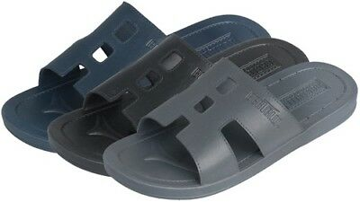 MEN'S SANDALS - ASSORTED SOLID COLORS > (Lot of 24 Pairs)