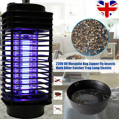 New Electric 220V Light Mosquito Killer Fly Bug Insect Zapper Trap Catcher Lamp