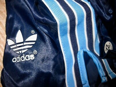 Adidas Shorts Vintage Pants D4 Sporthose Glanzshorts West Germany Shiny 80er