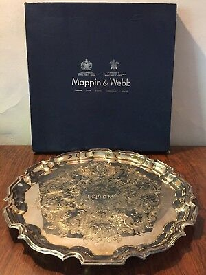 Mappin and Webb Silver Plated Salver