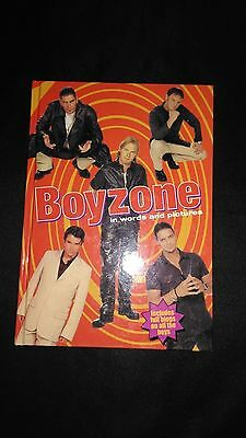 Boyzone In Words and Pictures Vintage/Retro Pop Music Near Mint