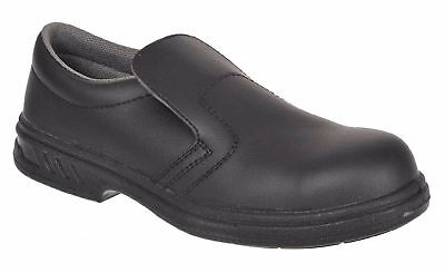 Portwest Steelite™ Slip On Safety Shoe S2 Kitchen Catering SRC FW81 - Unisex
