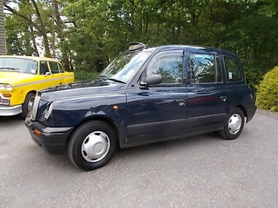 Ex LONDON TAXICAB Carbodies TX2 auto midnight blue Direct London Service Mot NOV