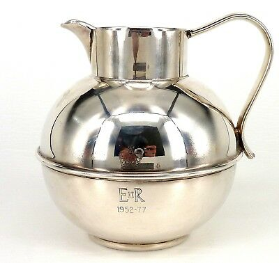 Silver Jug Classic Form By Mappin & Webb