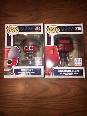 NYCC Funko POP Disney The Black Hole Set Vincent & Maximillian