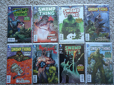 Swamp Thing #19 20 21 22 23 23.1 24 25, Arcane Lenticular Cover! new 52 Soule