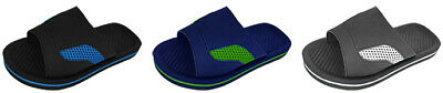 BOY'S COMFORT SPORTS SLIDES WITH MESH > (Lot of 36 Pairs)