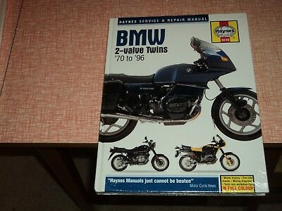 Haynes BMW 2-Valve Twins 70 to 96  Workshop Manual   New Sealed
