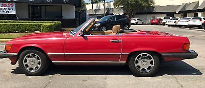 1986 Mercedes-Benz SL-Class  1986 Mercedes Benz 560SL, Red, Both Tops, Runs and Drives fantastic!