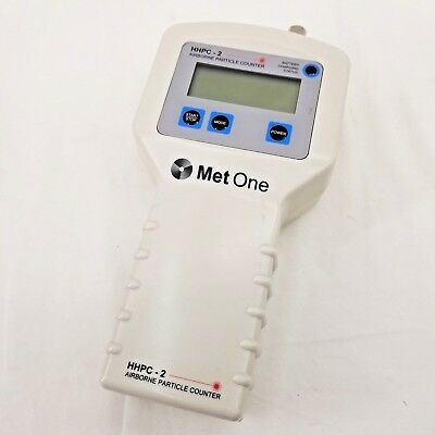 Hach Ultra | MET ONE | HHPC-2B | Airborne Particle Counter | POWERS ON