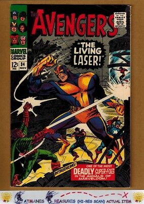 Avengers #34 (8.5) VF+ By Stan Lee 1966 Silver Age Key Issue