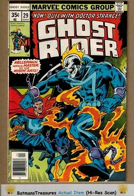 Ghost Rider #29 (8.5) VF+ Doctor Strange Appearance 1978 Bronze Age Key Issue