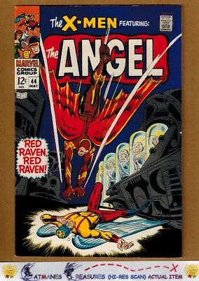 Uncanny X-Men #44 (9.0) VF/NM 1st SilverAge Red Raven Appearance 1968 Silver Age
