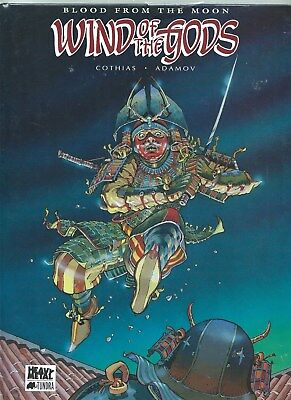 Wind Of The Gods Volume 1 Blood From The Moon Heavy Metal Tundra Graphic Novel