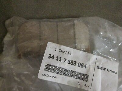 BMW Front Sintered Metal Brake Pads GS, R1200RT 2004-13 OEM, NEW