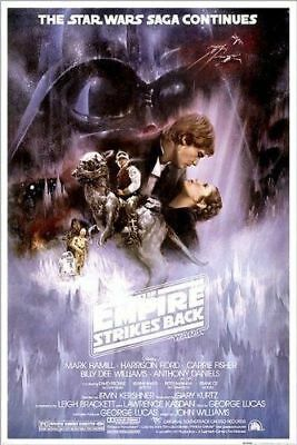 STAR WARS - CLASSIC MOVIE POSTERS - Empire Strikes Back  NEW - 24x36 INCHES